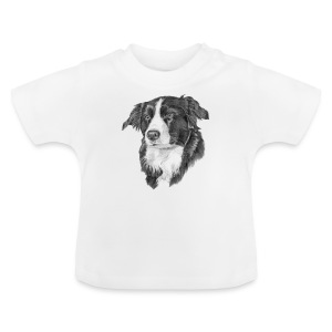 border collie S - Baby T-shirt