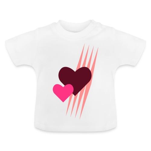 Teddy.Kidswear. – Hearts - Baby T-Shirt