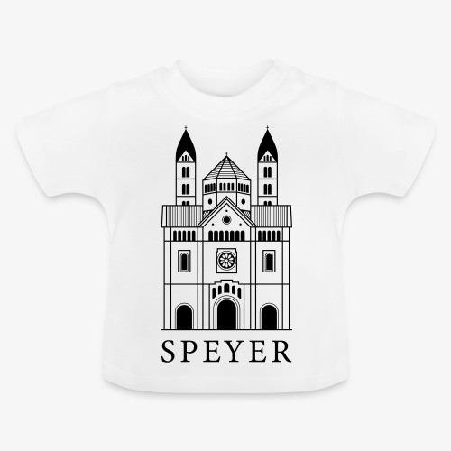 Speyer - Dom - Classic Font - Baby T-Shirt