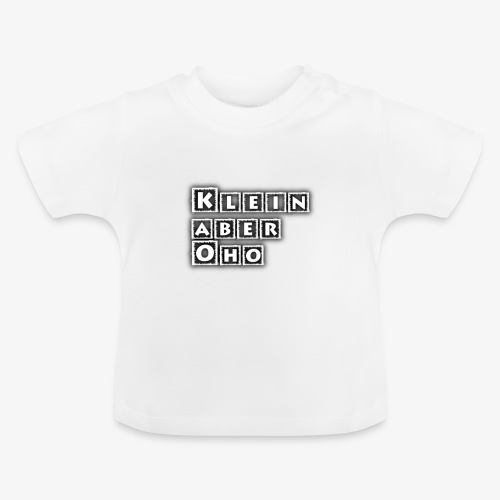 Kinder und Babykleidung mit Aufdruck - Baby T-Shirt