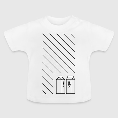 mjölk - Baby-T-shirt