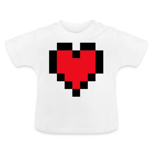 Pixel Heart - Baby T-shirt