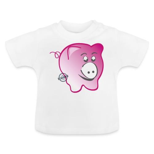 Pig - Symbols of Happiness - Baby T-Shirt