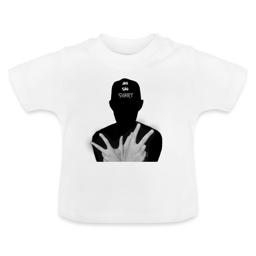 JAG SÅG SVART - Baby-T-shirt