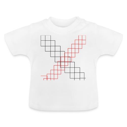 squares - T-shirt Bébé
