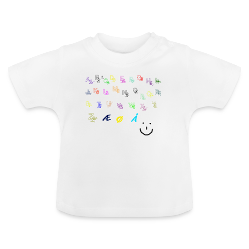 Alfabet Collection - Baby-T-skjorte