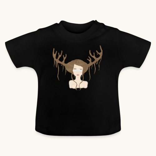 Blind Deer. - T-shirt Bébé
