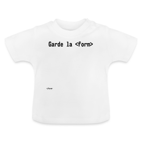 Design_dev_blague - T-shirt Bébé