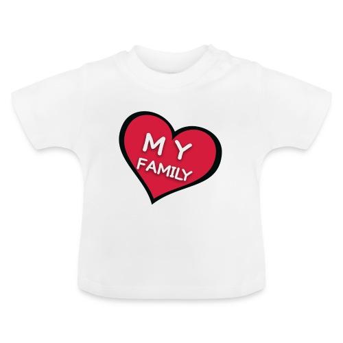 My Family - T-shirt Bébé