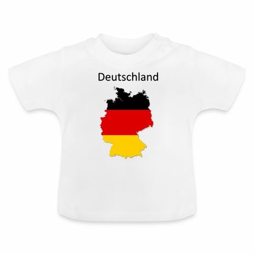 Deutschland Karte - Baby T-Shirt