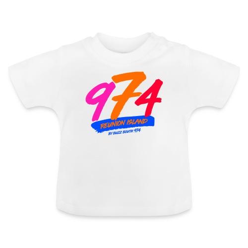 Collection 974 REUNION ISLAND - T-shirt Bébé