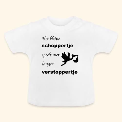 Schoppertje speelt verstoppertje - Baby T-shirt