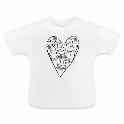 I Love Cats - Baby T-Shirt