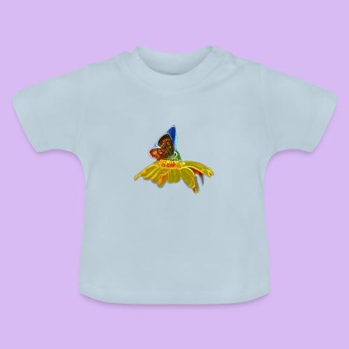 Farfalla su corolla - Maglietta per neonato
