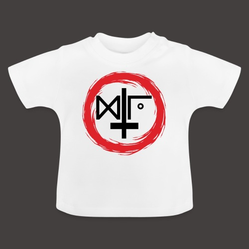 Logo Gu Croix Noir - T-shirt Bébé