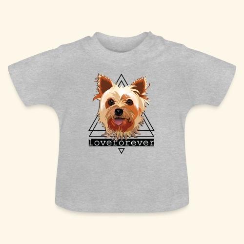 YORKIE LOVE FOREVER - Camiseta bebé
