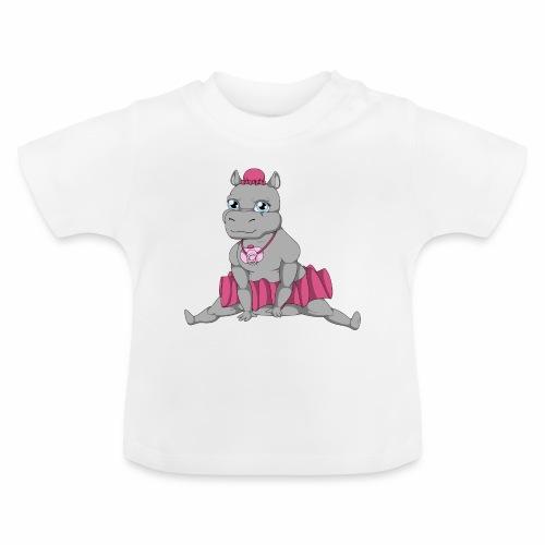 Little Big Hippo - T-shirt Bébé