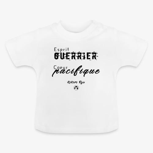 ESPRIT GUERRIER COEUR PACIFIQUE - T-shirt Bébé
