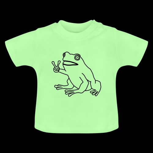Funny Animal Frog Frosch - Baby T-Shirt
