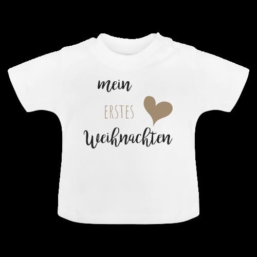 mein erstes Weihnachten - Baby T-Shirt