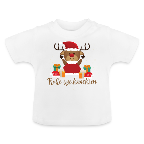 Frohe Weihnachten - Baby T-Shirt