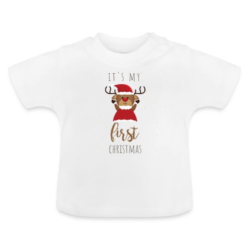 it's my first Christmas - Baby T-Shirt