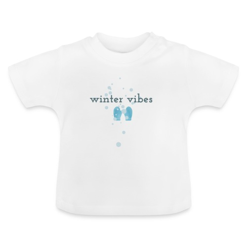 winter vibes - T-shirt Bébé