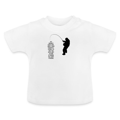 Baby fishing - Baby T-Shirt