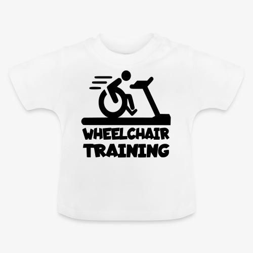 Rolstoel training 001 - Baby T-shirt