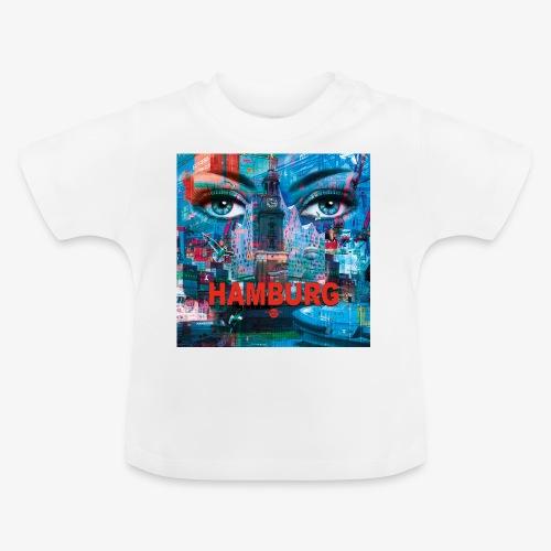 01 Faszination Hamburg Blaue Augen Elphi Michel - Baby T-Shirt