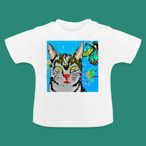 Kater Ritchie, der Held - Baby T-Shirt