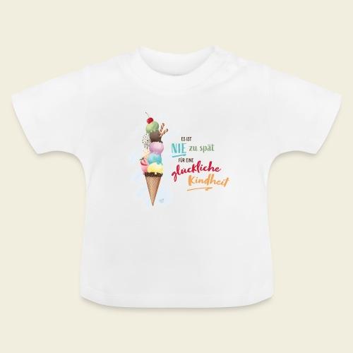 Eis - glückliche Kindheit - Baby T-Shirt