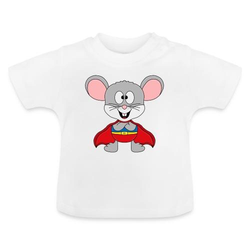 MAUS - SUPERHELD - TIER - KIND - BABY - FUN - Baby T-Shirt