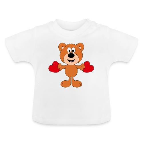 TEDDY - BÄR - LIEBE - LOVE - KIND - BABY - Baby T-Shirt