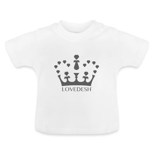 Lovedesh Crown (Dark Grey) - Baby T-Shirt