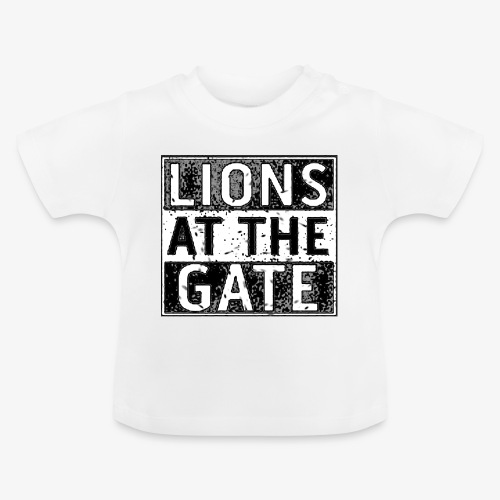 LIONS AT THE GATE BAND LOGO - Baby T-shirt
