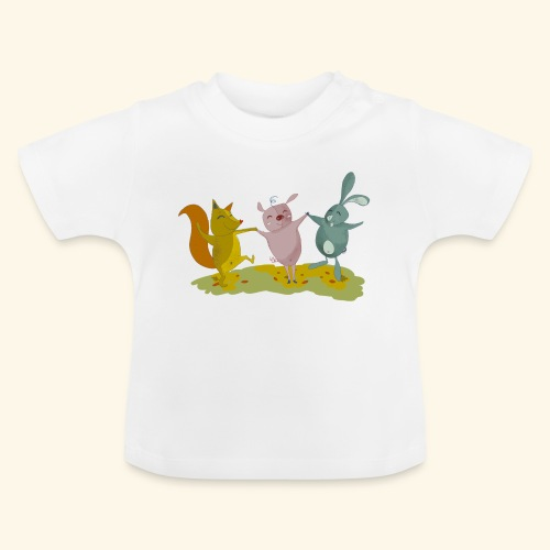 happy friends - Baby T-Shirt