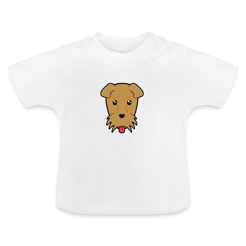 Shari the Airedale Terrier - Baby T-Shirt