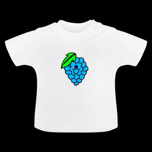 kunterbunter weintraube Lacht - Baby T-Shirt