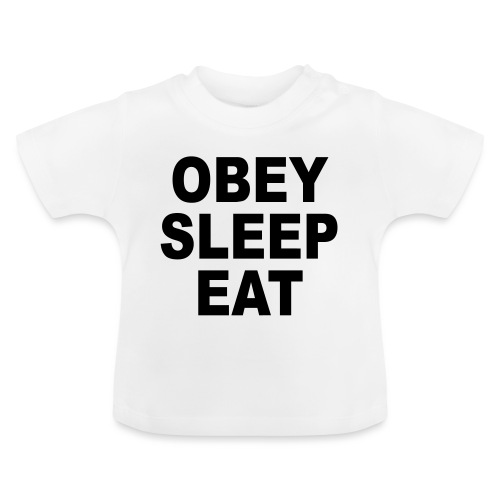 obey sleep - T-shirt Bébé