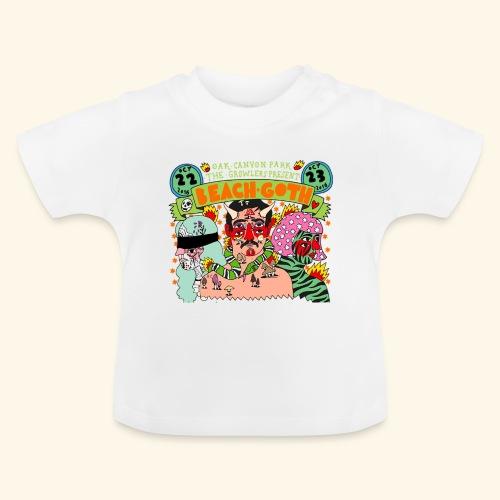 beach goth 2016 - T-shirt Bébé