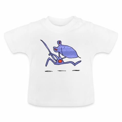 muis op de loop - Baby T-shirt