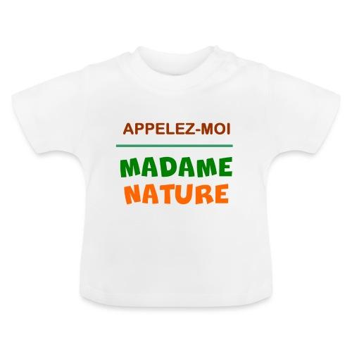 MADAME NATURE - T-shirt Bébé