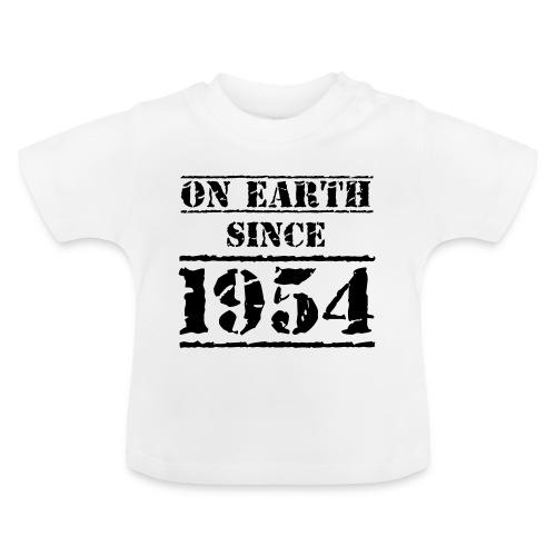 on Earth since 1954 65 Geburtstag Happy Birthday - Baby T-Shirt