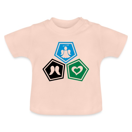 Tee shirt baseball Enfant Trio ange, ailes d'ange - Baby T-Shirt