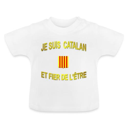 Tee-Shirt supporter du pays CATALAN - T-shirt Bébé