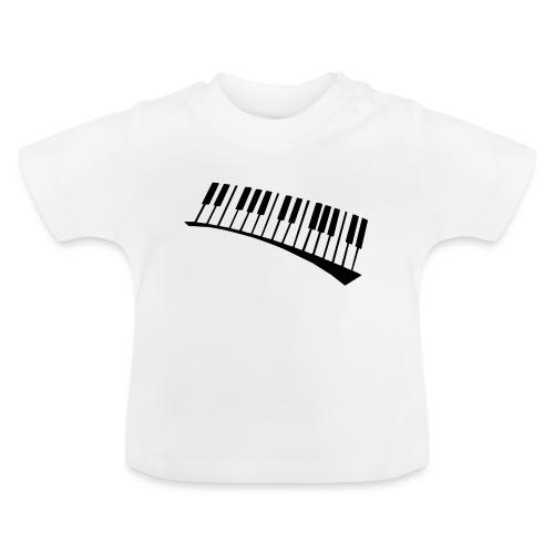 Piano - Camiseta bebé
