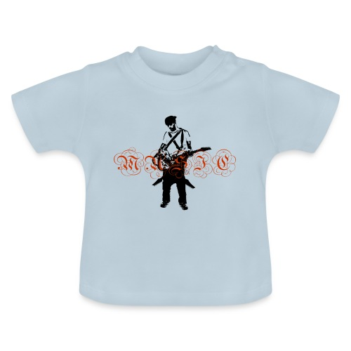 Guitarr Musician by Stefan_Lindblad - Baby-T-shirt