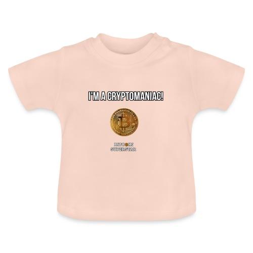 I'm a cryptomaniac - Maglietta per neonato