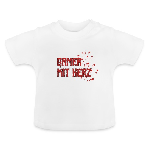 Gamer with heart - Baby T-Shirt